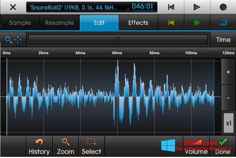 Στιγμιότυπο οθόνης NanoStudio Windows 8