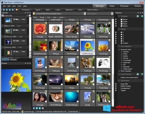 Στιγμιότυπο οθόνης ACDSee Windows 8