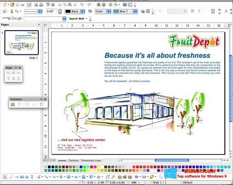 Στιγμιότυπο οθόνης Apache OpenOffice Windows 8
