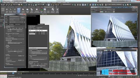 Στιγμιότυπο οθόνης 3ds Max Windows 8