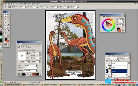 Στιγμιότυπο οθόνης Artweaver Windows 8