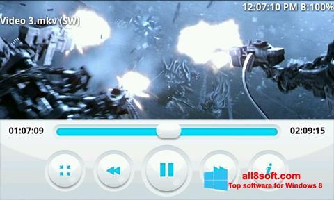 Στιγμιότυπο οθόνης BSPlayer Windows 8