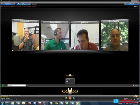 Στιγμιότυπο οθόνης ooVoo Windows 8