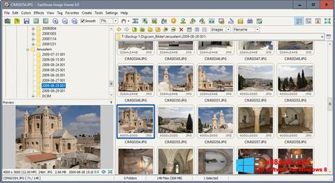 Στιγμιότυπο οθόνης FastStone Image Viewer Windows 8