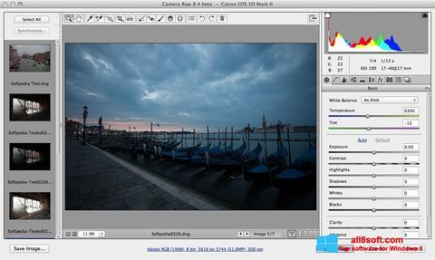 Στιγμιότυπο οθόνης Adobe Camera Raw Windows 8