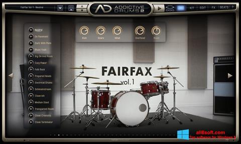 Στιγμιότυπο οθόνης Addictive Drums Windows 8