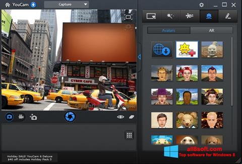 Στιγμιότυπο οθόνης CyberLink YouCam Windows 8