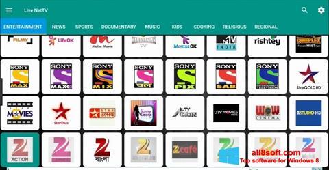 Στιγμιότυπο οθόνης Net TV Windows 8