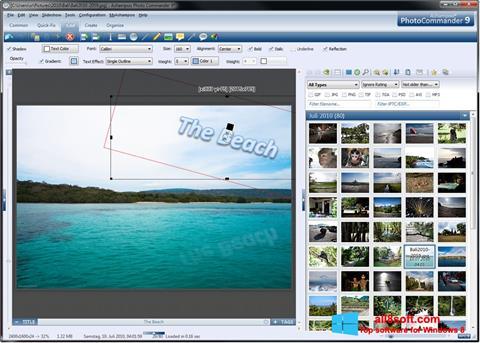 Στιγμιότυπο οθόνης Ashampoo Photo Commander Windows 8