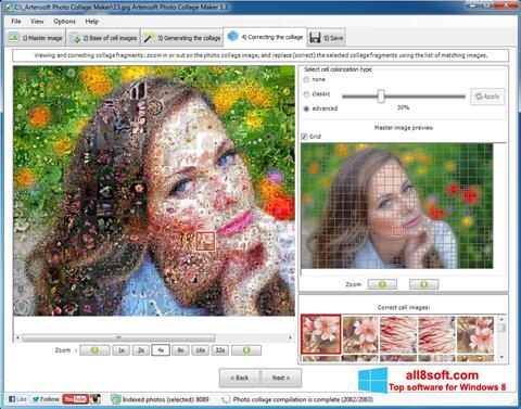 Στιγμιότυπο οθόνης Photo Collage Maker Windows 8