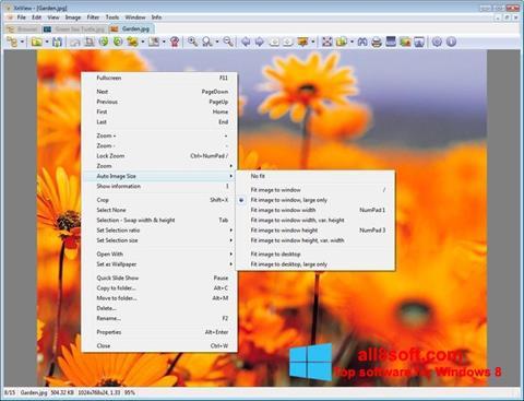 Στιγμιότυπο οθόνης XnView Windows 8