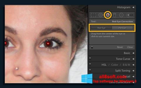 Στιγμιότυπο οθόνης Red Eye Remover Windows 8