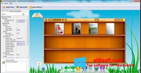 Στιγμιότυπο οθόνης Bookshelf Windows 8