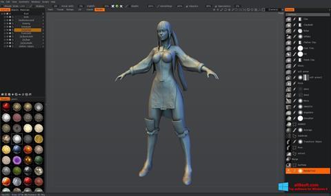 Στιγμιότυπο οθόνης 3D-Coat Windows 8