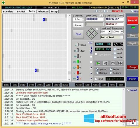 Στιγμιότυπο οθόνης Victoria Windows 8