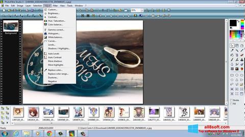 Στιγμιότυπο οθόνης PhotoFiltre Studio X Windows 8