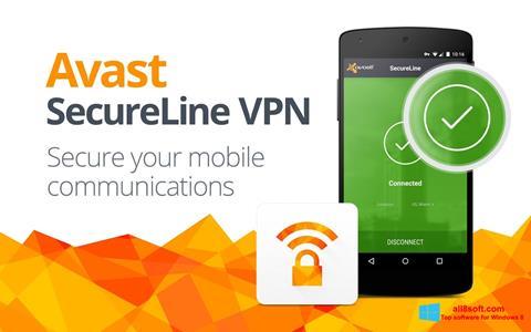 Στιγμιότυπο οθόνης Avast SecureLine VPN Windows 8