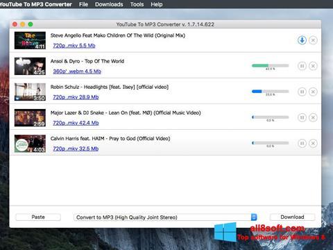 Στιγμιότυπο οθόνης Free YouTube to MP3 Converter Windows 8