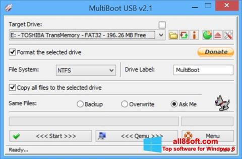 Στιγμιότυπο οθόνης Multi Boot USB Windows 8
