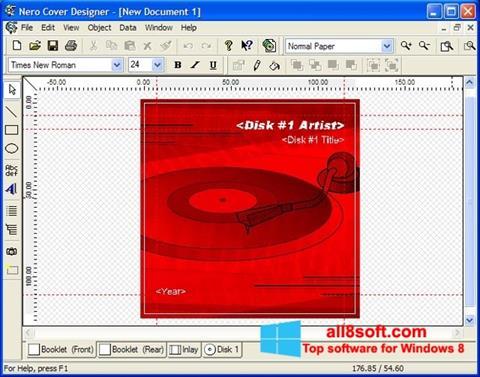 Στιγμιότυπο οθόνης Nero Cover Designer Windows 8