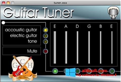 Στιγμιότυπο οθόνης Guitar Tuner Windows 8