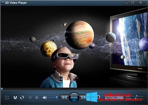 Στιγμιότυπο οθόνης 3D Video Player Windows 8