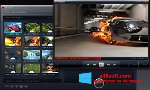 Στιγμιότυπο οθόνης Action! Windows 8