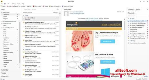 Στιγμιότυπο οθόνης eM Client Windows 8