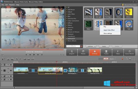 Στιγμιότυπο οθόνης Movavi Video Suite Windows 8