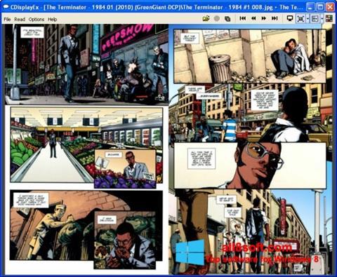 Στιγμιότυπο οθόνης CDisplay Windows 8