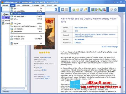 Στιγμιότυπο οθόνης All My Books Windows 8