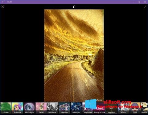 Στιγμιότυπο οθόνης PicsArt Windows 8