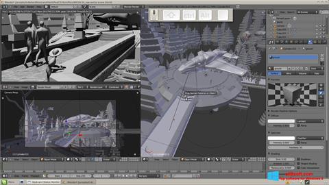 Στιγμιότυπο οθόνης Blender Windows 8