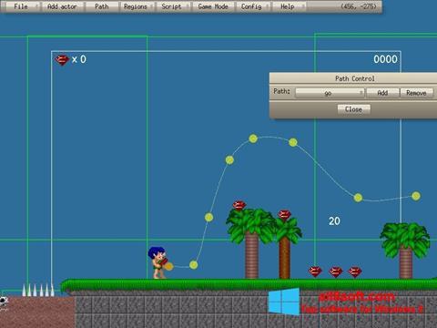 Στιγμιότυπο οθόνης Game Editor Windows 8