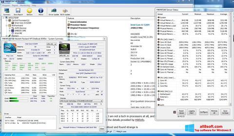 Στιγμιότυπο οθόνης HWiNFO Windows 8