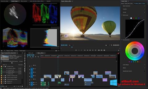 Στιγμιότυπο οθόνης Adobe Premiere Pro Windows 8