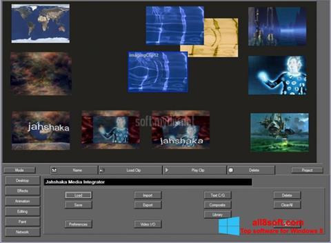 Στιγμιότυπο οθόνης JahShaka Windows 8