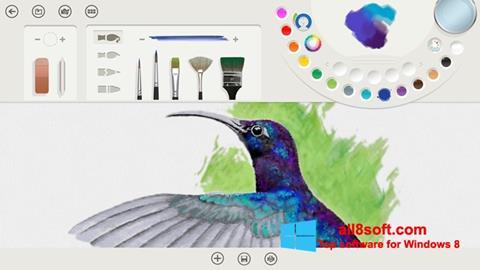 Στιγμιότυπο οθόνης Fresh Paint Windows 8