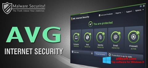 Στιγμιότυπο οθόνης AVG Internet Security Windows 8