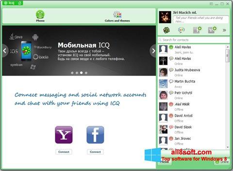 Στιγμιότυπο οθόνης ICQ Windows 8