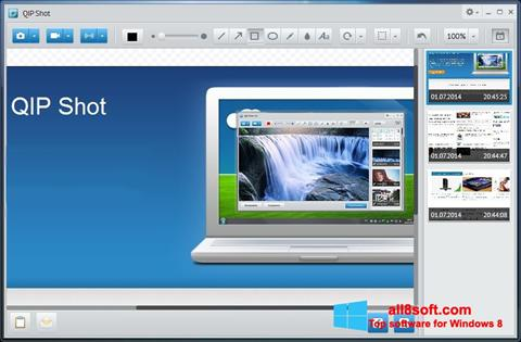 Στιγμιότυπο οθόνης QIP Windows 8