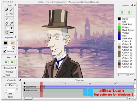 Στιγμιότυπο οθόνης Pencil Windows 8
