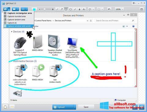 Στιγμιότυπο οθόνης QIP Shot Windows 8