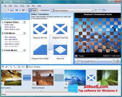 Στιγμιότυπο οθόνης Windows Movie Maker Windows 8