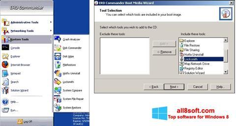 Στιγμιότυπο οθόνης ERD Commander Windows 8