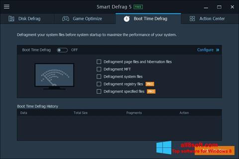 Στιγμιότυπο οθόνης Smart Defrag Windows 8