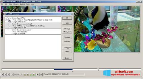 Στιγμιότυπο οθόνης VirtualDubMod Windows 8