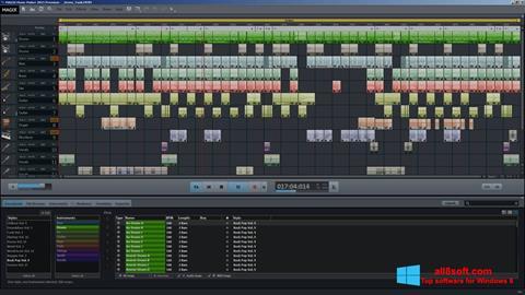 Στιγμιότυπο οθόνης MAGIX Music Maker Windows 8