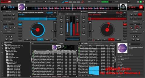 Στιγμιότυπο οθόνης Virtual DJ Windows 8