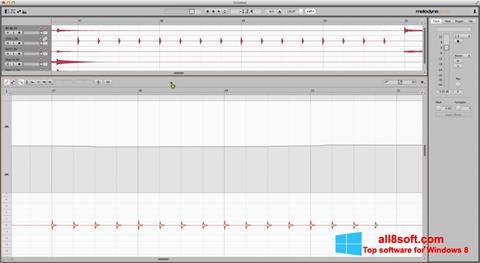 Στιγμιότυπο οθόνης Melodyne Windows 8